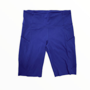 Primary Photo - BRAND: LULULEMON STYLE: ATHLETIC SHORTS COLOR: BLUE SIZE: 8 SKU: 223-22370-16235
