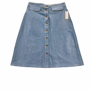 Primary Photo - BRAND: ANTHROPOLOGIE STYLE: SKIRT COLOR: BLUE SIZE: 10 SKU: 223-22364-40671
