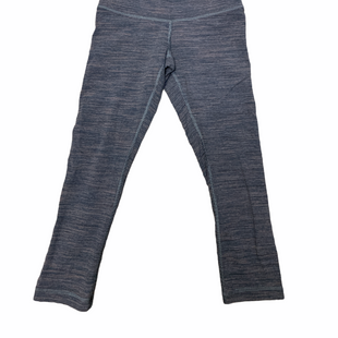 Primary Photo - BRAND: LULULEMON STYLE: ATHLETIC CAPRIS COLOR: GREY WHITE SIZE: 4 SKU: 223-22318-119705