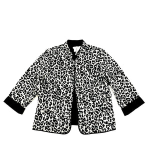 Primary Photo - BRAND: CHICOS STYLE: JACKET OUTDOOR COLOR: ANIMAL PRINT SIZE: L SKU: 223-22396-120