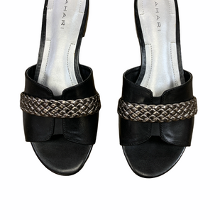 Primary Photo - BRAND: TAHARI STYLE: SHOES FLATS COLOR: BLACK SILVER SIZE: 5.5 SKU: 223-22364-35749