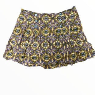 Primary Photo - BRAND: FREE PEOPLE STYLE: SKIRT COLOR: GREEN SIZE: 8 OTHER INFO: PURPLE/YELLOW SKU: 223-22318-123328