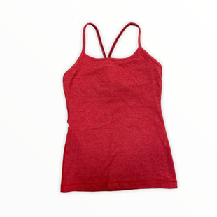Primary Photo - BRAND: LULULEMON STYLE: ATHLETIC TANK TOP COLOR: RED SIZE: 4 SKU: 223-223107-218