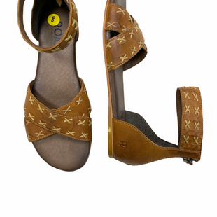 Primary Photo - BRAND: BED STU STYLE: SANDALS FLAT COLOR: CAMEL SIZE: 8 SKU: 223-22361-22916
