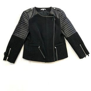 Primary Photo - BRAND: REBECCA MINKOFF STYLE: JACKET LEATHER COLOR: BLACK SIZE: S OTHER INFO: LEATHER/WOOL SKU: 223-22318-94370