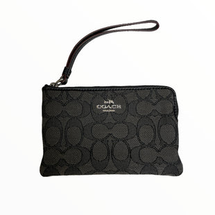 Primary Photo - BRAND: COACH STYLE: WRISTLET COLOR: GREY OTHER INFO: BLACK/MONO/CLOTH SKU: 223-22318-121093