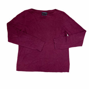 Primary Photo - BRAND: TAHARI STYLE: SWEATER CASHMERE COLOR: MAROON SIZE: XL SKU: 223-22396-1455