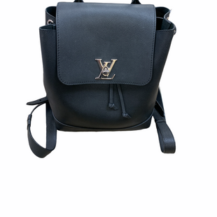 Primary Photo - BRAND: LOUIS VUITTON STYLE: BACKPACK COLOR: BLACK SIZE: MEDIUM OTHER INFO: LOCK ME BACKPACK DU1136 SKU: 223-22361-21308