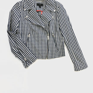 Primary Photo - BRAND: J CREW O STYLE: JACKET OUTDOOR COLOR: PLAID SIZE: S OTHER INFO: WHITE/BLUE SKU: 223-22318-94381