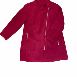 Primary Photo - BRAND: ANN TAYLOR LOFT STYLE: COAT WOOL COLOR: RASPBERRY SIZE: XL SKU: 223-22343-18829