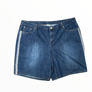 Primary Photo - BRAND: CJ BANKS STYLE: SHORTS COLOR: DENIM SIZE: 24 OTHER INFO: SILVER ON SIDES SKU: 223-22370-16848