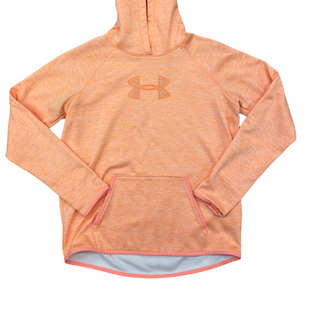 Primary Photo - BRAND: UNDER ARMOUR STYLE: ATHLETIC JACKET COLOR: ORANGE SIZE: M SKU: 223-22318-108397
