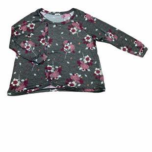 Primary Photo - BRAND: MAURICES STYLE: SWEATER LIGHTWEIGHT COLOR: FLORAL SIZE: 3X OTHER INFO: CHARCOAL W PINK WHITE ORANGE SKU: 223-22361-21883