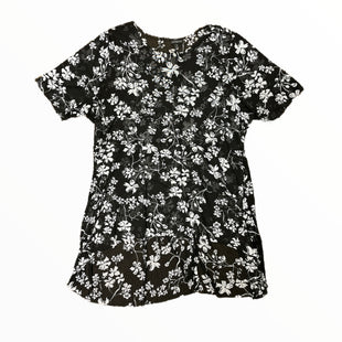 Primary Photo - BRAND: LANE BRYANT STYLE: TOP SHORT SLEEVE COLOR: FLORALSIZE: 3X SKU: 223-22318-123058BLACK WHITE