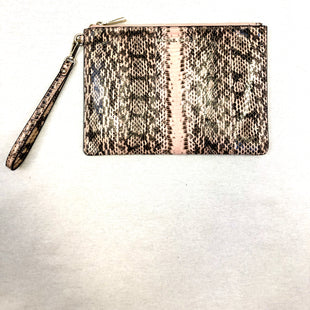 Primary Photo - BRAND: MICHAEL BY MICHAEL KORS STYLE: WRISTLET COLOR: SNAKESKIN PRINT OTHER INFO: PINK/BLACK SKU: 223-22318-103957
