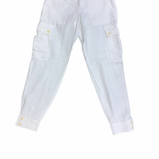 Primary Photo - BRAND: LAUREN BY RALPH LAUREN STYLE: PANTS (LINEN)COLOR: WHITE SIZE: 4PETITE SKU: 223-22364-42546