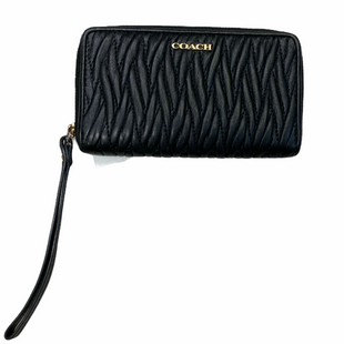 Primary Photo - BRAND: COACH STYLE: WALLET COLOR: BLACK SIZE: SMALL SKU: 223-223100-1348