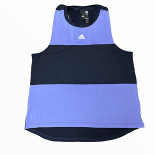 Primary Photo - BRAND: ADIDAS STYLE: ATHLETIC TANK TOP COLOR: NAVY SIZE: XL OTHER INFO: PERIWINKLE SKU: 223-22370-17138
