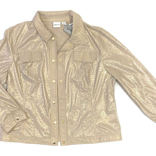Primary Photo - BRAND: ZENERGY BY CHICOS STYLE: JACKET OUTDOOR COLOR: GOLD SIZE: XL SKU: 223-22364-35261
