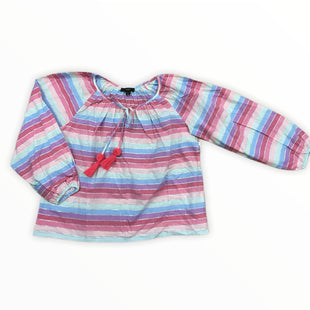 Primary Photo - BRAND: J CREW STYLE: TOP LONG SLEEVE COLOR: STRIPED SIZE: S OTHER INFO: MNT/PNK/CORAL/LT BLUE/PRPL/SPARKLE SILVER SKU: 223-22343-20635