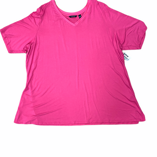 Primary Photo - BRAND: HALSTON STYLE: TOP SHORT SLEEVE COLOR: PINK SIZE: 3X SKU: 223-22318-109933