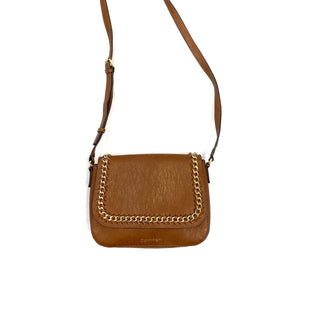 Primary Photo - BRAND: CALVIN KLEIN STYLE: HANDBAG DESIGNER COLOR: BROWN SIZE: MEDIUM OTHER INFO: CROSSBODY/GOLD SKU: 223-22318-104888