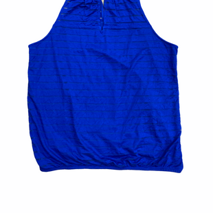 Primary Photo - BRAND: INTERNATIONAL CONCEPTS STYLE: TOP SLEEVELESS COLOR: ROYAL BLUE SIZE: XL SKU: 223-22364-43819