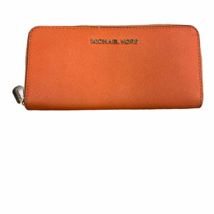 Primary Photo - BRAND: MICHAEL BY MICHAEL KORS STYLE: WALLET COLOR: ORANGE SIZE: LARGE SKU: 223-22318-112518
