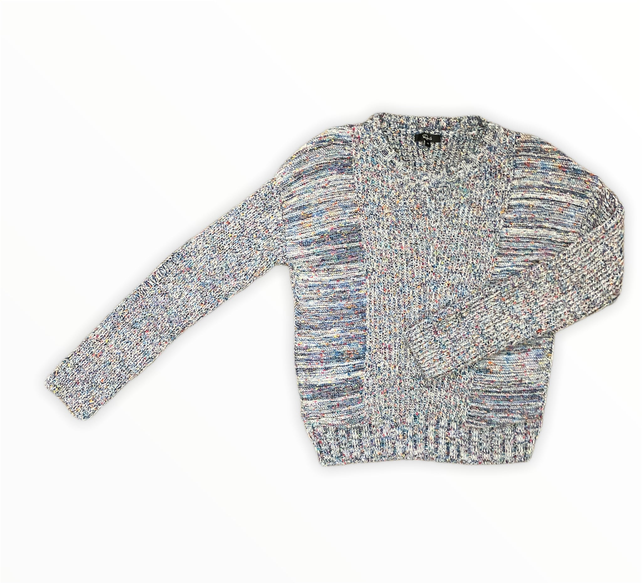 Primary Photo - BRAND: RAILS <BR>STYLE: SWEATER LIGHTWEIGHT <BR>COLOR: MULTI <BR>SIZE: XS <BR>SKU: 223-22364-42245