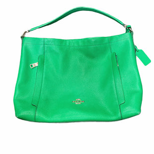 Primary Photo - BRAND: COACH STYLE: HANDBAG DESIGNER COLOR: GREEN SIZE: LARGE OTHER INFO: 34312 SKU: 223-22318-124226