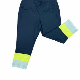 Primary Photo - BRAND: LIVI ACTIVE STYLE: ATHLETIC CAPRIS COLOR: NAVY SIZE: 2X SKU: 223-22393-3203