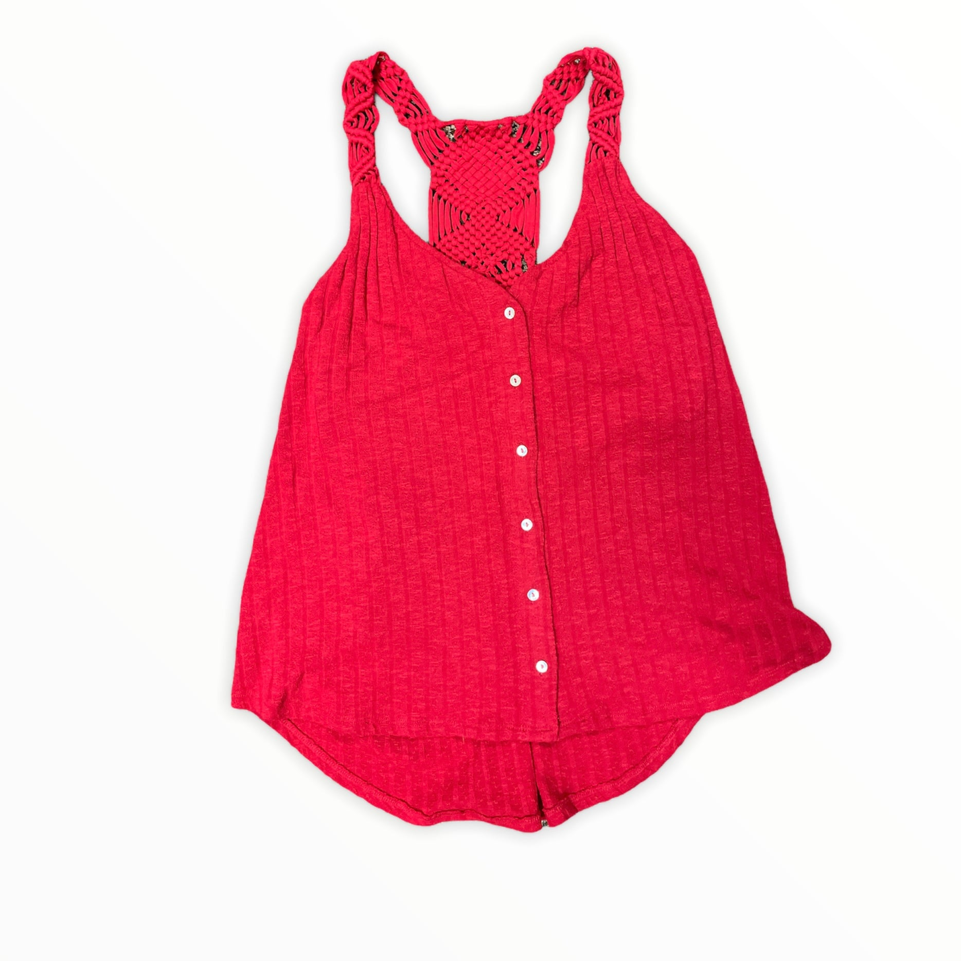 Primary Photo - BRAND: MAURICES <BR>STYLE: TOP SLEEVELESS <BR>COLOR: RED <BR>SIZE: XL <BR>SKU: 223-22318-117634