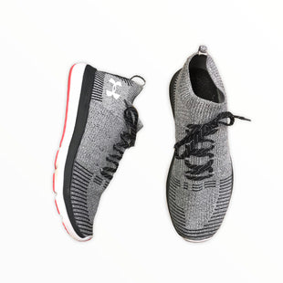 Primary Photo - BRAND: UNDER ARMOUR STYLE: SHOES ATHLETIC COLOR: CHARCOAL SIZE: 10 OTHER INFO: GREY CHARCOAL AND BLACK SKU: 223-22361-20582