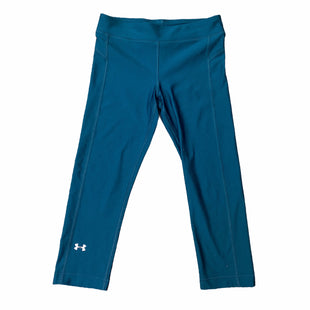 Primary Photo - BRAND: UNDER ARMOUR STYLE: ATHLETIC CAPRIS COLOR: FOREST SIZE: S SKU: 223-22318-118135