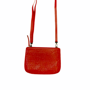 Primary Photo - BRAND: BRIGHTON STYLE: HANDBAG DESIGNER COLOR: RED SIZE: SMALL OTHER INFO: DEEPLY IN LOVE POUCH SKU: 223-22318-122021