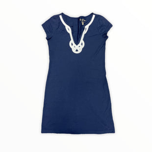 Primary Photo - BRAND: LILLY PULITZER STYLE: DRESS SHORT SHORT SLEEVE COLOR: NAVY SIZE: S SKU: 223-22393-6231