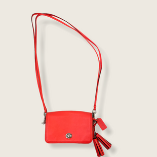 Primary Photo - BRAND: COACH STYLE: HANDBAG DESIGNER COLOR: CORAL SIZE: SMALL OTHER INFO: 19914 SKU: 223-22318-117429