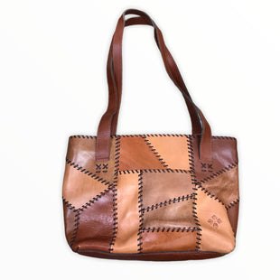 Primary Photo - BRAND: PATRICIA NASH STYLE: HANDBAG DESIGNER COLOR: BROWN SIZE: LARGE OTHER INFO: PATCHWORK WHIP STITCH SKU: 223-22364-40754