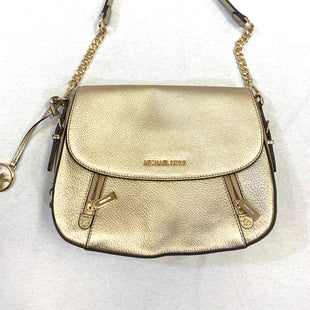 Primary Photo - BRAND: MICHAEL BY MICHAEL KORS STYLE: HANDBAG DESIGNER COLOR: GOLD SIZE: MEDIUM OTHER INFO: CROSSBODY SKU: 223-22318-108687
