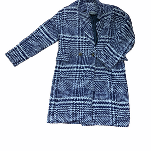 Primary Photo - BRAND:  CMB STYLE: COAT WOOL COLOR: BLUE WHITE SIZE: M OTHER INFO: CECILIE - SKU: 223-22318-116756