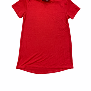 Primary Photo - BRAND: ATHLETA STYLE: ATHLETIC TOP SHORT SLEEVE COLOR: RED SIZE: XS SKU: 223-223100-829