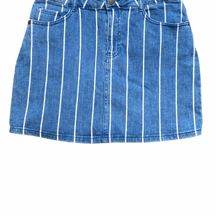 Primary Photo - BRAND: ALTARD STATE STYLE: SKIRT COLOR: DENIM BLUE SIZE: M OTHER INFO: WHITE STRIPE SKU: 223-22318-122417