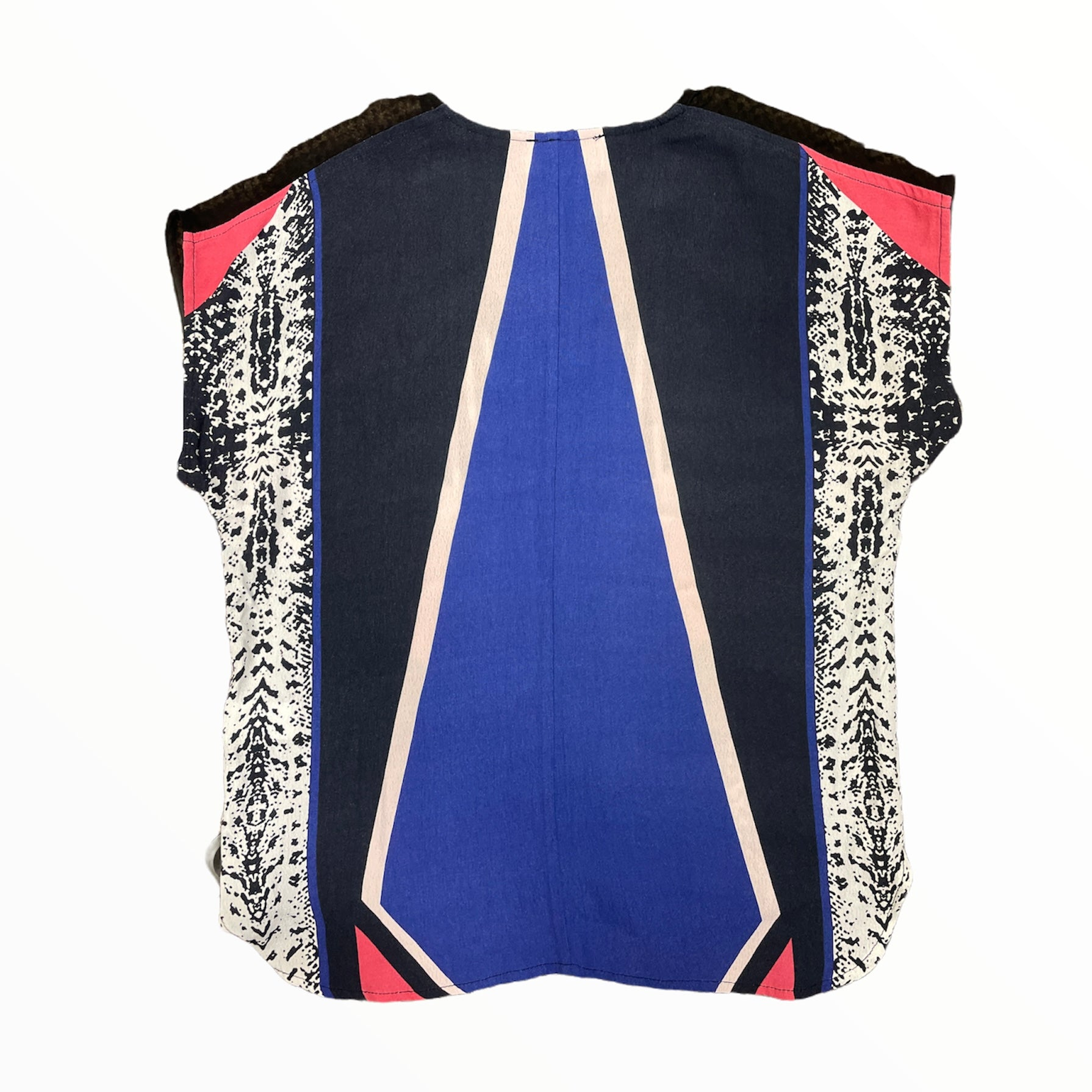 Photo #1 - BRAND: ANTHROPOLOGIE <BR>STYLE: TOP SLEEVELESS <BR>COLOR: MULTI <BR>SIZE: XS <BR>OTHER INFO: BLK/BLU/DSTY PNK/CRM/CORL <BR>SKU: 223-22343-19078