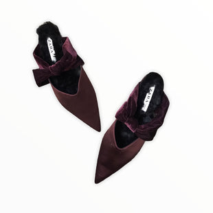 Primary Photo - BRAND: ZARA BASIC STYLE: SHOES FLATS COLOR: MAROON SIZE: 9 SKU: 223-22370-14523
