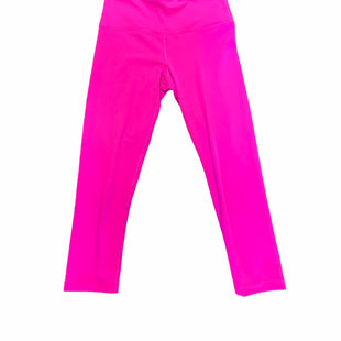 Primary Photo - BRAND: 90 DEGREES BY REFLEX STYLE: ATHLETIC CAPRIS COLOR: HOT PINK SIZE: S SKU: 223-22393-2457