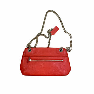Primary Photo - BRAND: COACH STYLE: HANDBAG DESIGNER COLOR: RED SIZE: SMALL OTHER INFO: F33878 SKU: 223-22361-20146