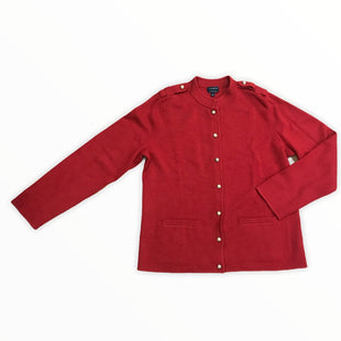 Primary Photo - BRAND: TALBOTS STYLE: SWEATER HEAVYWEIGHT COLOR: RED SIZE: L SKU: 223-22343-19037