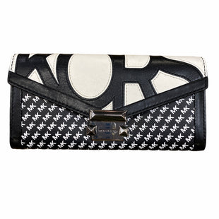 Primary Photo - BRAND: MICHAEL BY MICHAEL KORS STYLE: WALLET COLOR: BLACK WHITE SIZE: LARGE OTHER INFO: MONOGRAM SKU: 223-22343-20759