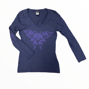 Primary Photo - BRAND: HARLEY DAVIDSON STYLE: TOP LONG SLEEVE BASIC COLOR: PURPLE SIZE: S SKU: 223-22343-22640