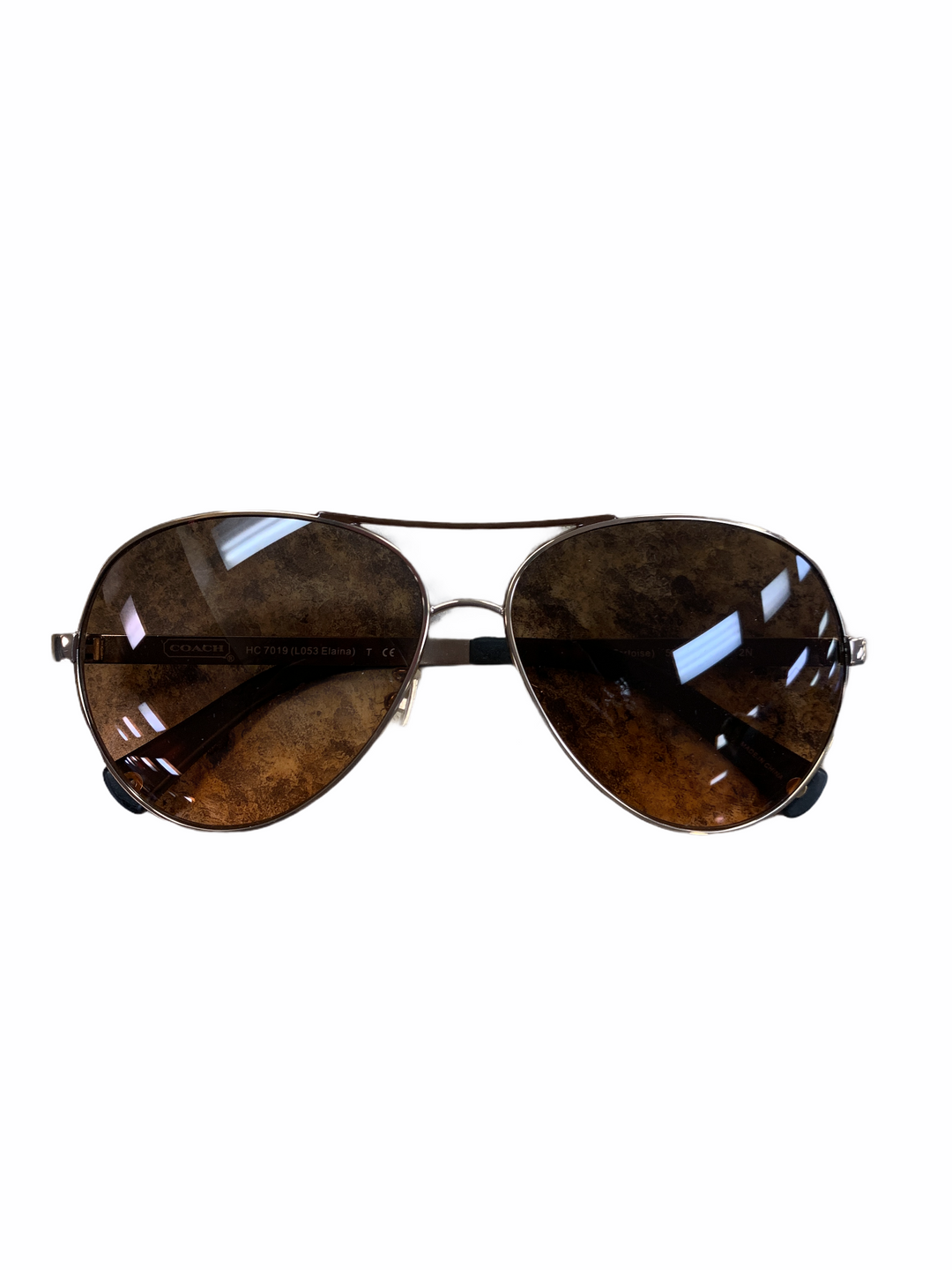 Primary Photo - BRAND: COACH <BR>STYLE: SUNGLASSES <BR>COLOR: BROWN <BR>SKU: 223-22318-120034